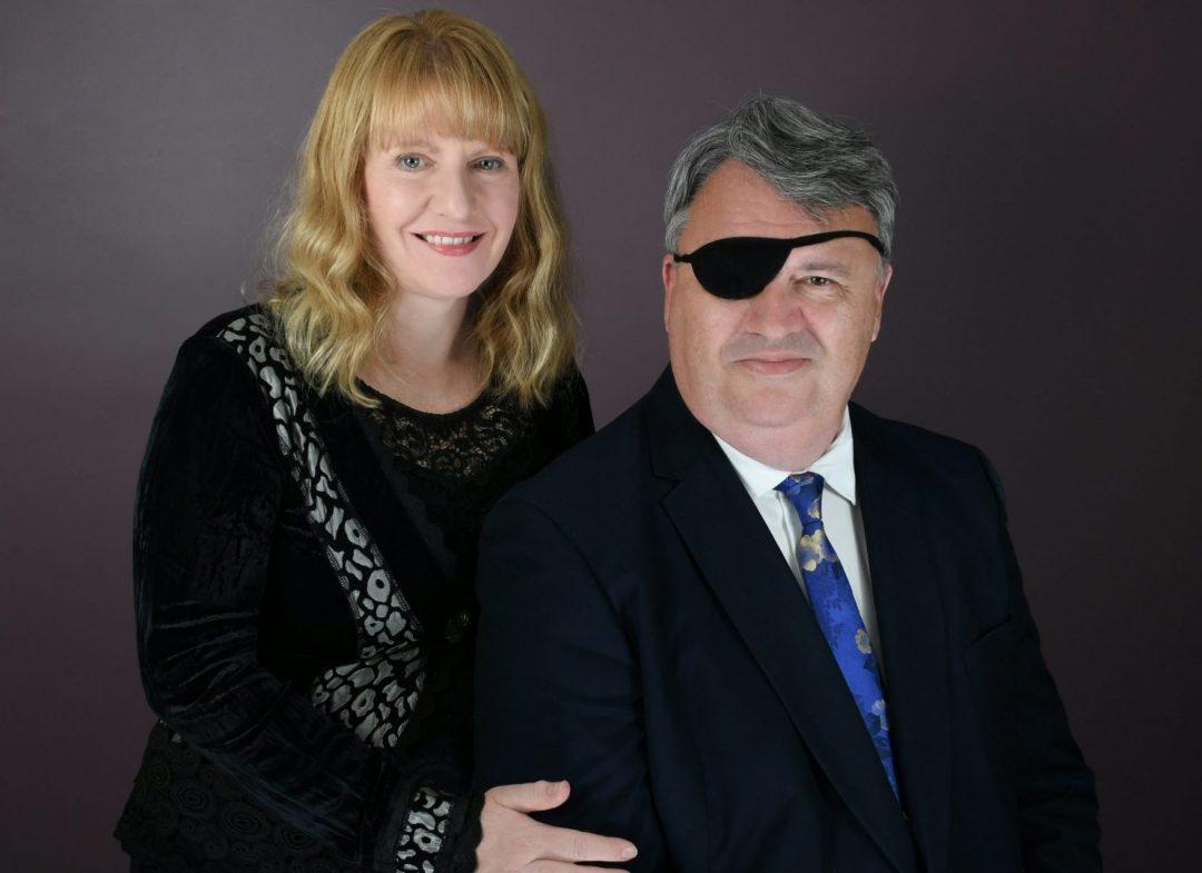 Jonathan Hainsworth and Christine Ward-Agius